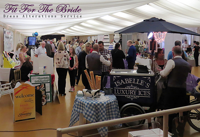 Wedding Fair at the Select Security stadium, Widnes 8th September 2013